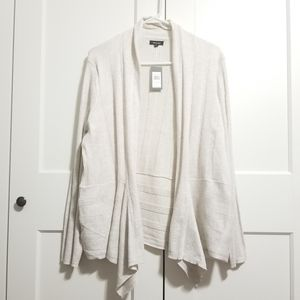 Verve Ami open front cascading cardigan